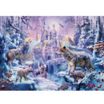 1000pcs Wolf Castle Puzzle Paper Jigsaw Educational Toys Room Decor Gift