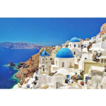 1000pcs Puzzle Paper Aegean Sea Jigsaw Children Adults Educational Toy Gift