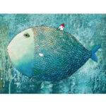 1000pcs DIY Jigsaw Puzzles Fish Paper Children Adult Educational Toy Gift