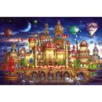 1000pcs DIY Water Palace Puzzle Educational Learning Assembling Jigsaw Toys