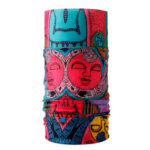 WEST BIKING Digital Print Cycling Face Mask Seamless Bandana Scarf (E)