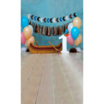 Balloon Birthday Background Cloth Home Decor Photo Prop Backdrop (160)
