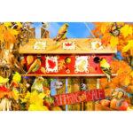 Paper Puzzles Jigsaw 1000pcs Autumn Leaves Educational Assemble DIY Toys