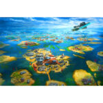 1000pcs Paper Puzzles Jigsaw Lake Islands Educational Kids Adults DIY Toy