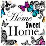5D DIY Full Drill Diamond Painting Butterfly Home Cross Stitch Embroidery