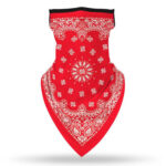 Digital Print Outdoor Sports Neck Scarf Triangular Scarf Cycling Facemask