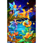 1000pcs DIY Lake Fairies Jigsaw Paper Puzzles Adult Kid Educational Toys