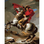Painting By Numbers Kit DIY Napoleon Digital Canvas Art Picture Home Decor