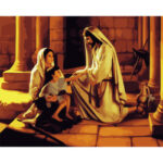 Frameless Painting By Numbers Kit DIY Blessing Hand Painted Artwork Picture