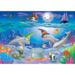 5D Diamond Painting DIY Dolphin Full Drill Embroidery Pictures Rhinestones