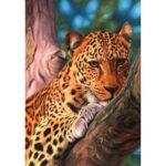 5D DIY Full Drill Diamond Painting Climbing Leopard Cross Stitch Embroidery