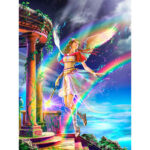 5D DIY Full Drill Diamond Painting Gorgeous Fairy Cross Stitch Embroidery