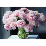 5D Diamond Painting DIY Eustoma Full Drill Embroidery Pictures Rhinestones