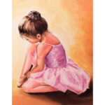 5D DIY Full Drill Diamond Painting Ballet Girl Cross Stitch Embroidery Kit