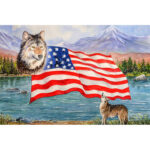5D DIY Diamond Painting National Flag Embroidery Cross Stitch Craft Picture
