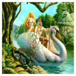 Swan Boat DIY Diamond Painting Cross Stitch Full Mosaic Diamond Embroidery