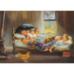 5D DIY Full Drill Diamond Painting Happiness Family Cross Stitch Embroidery