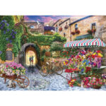 5D DIY Full Drill Diamond Painting Flower Street Cross Stitch Embroidery