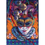 5D DIY Full Drill Diamond Painting Evil Figure Cross Stitch Embroidery Kit