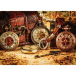 5D DIY Full Drill Diamond Painting Pocket Watch Cross Stitch Embroidery Kit