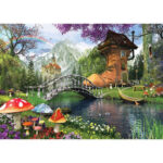 5D DIY Full Drill Diamond Painting Shoe House Cross Stitch Embroidery Craft