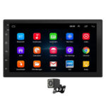 9210S 2 DIN Head Unit Android 10.1 WiFi GPS Car Radio + Rear View Camera