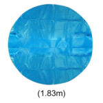 Solar Pool Cover for Round Easy Set Above Ground Metal Frame Pool (1.83m)