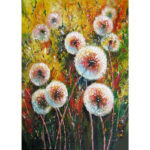 5D DIY Diamond Painting Colorful Dandelion Full Drill Picture Mosaic (E323)