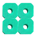 4pcs Reusable Washable Clean Swimming Pool Hot Tub Spa Filter Foam Sponge