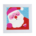Special Shaped DIY Full Drill Diamond Painting Father Christmas Embroidery