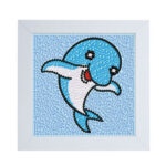 Special Shaped DIY Full Drill Diamond Painting Dolphin Embroidery Set Craft