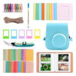 Film Camera Colorful Bundle Pack Accessory Kit for Fujifilm Instax Mini 11