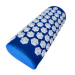 Lotus Acupressure Massage Yoga Pillow Spike Neck Cushion (Royal Blue)