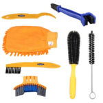 7pcs Professional MTB Road Bike Cleaning Tools Set Tire Chain Cleaner Brush