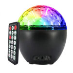 16 Color LED Projector Ball Light Remote Control Stage Party Night Lamp (B)