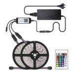 10m RGB LED Strip Light Waterproof Bluetooth Tape Lamp+Remote Control (AU)