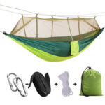 Outdoor Backyard Swing Chair Bed Kit Hunting Hammock with Mosquito Net (I)