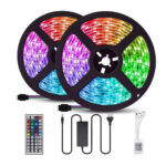 10m LED Strip Light Waterproof Remote Control RGB Flexible Tape Lamp (EU)