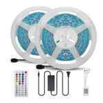 LED Strip Light APP Bluetooth Remote RGB Flexible Tape Ribbon Lamp (10m US)