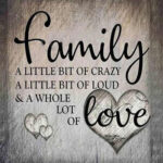 Family Love Letter Canvas Print Poster Wall Picture Painting Home Decor