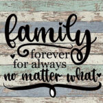 Board Family Proverb Canvas Print Wall Poster Picture Painting Home Decor