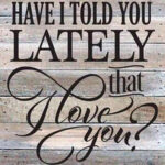 English Love Letters Canvas Painting Wall Hanging Picture Drawing Poster