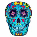 Beach Tapestry Carpet Blanket Picnic Mat Wall Hanging Art Decor (Skull11)