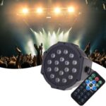 18 LED Voice Control Projector Lamp IP20 Waterproof with Remote Controller