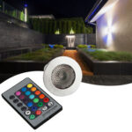 E27 5W Remote Control Light Bulb RGB Color Change Home Party Decor Lamp