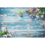 Flower Background Backdrop Wall Photo Studio Props Family Decor (0.4×0.6m)