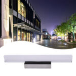 7W 40CM ZC001215 Bathroom Light Bar Silver White Light-06690096