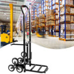 Oshion Portable Stair Climbing Cart 330 lbs Capacity with 6 Wheels-59291163