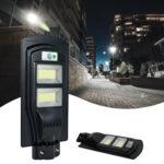 ZC001258 480W 300LED Solar Outdoor Street Lamp 45000LM (Optically Controlled Radar External Sensor)