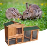 "61\\\"" Wooden Chicken Coop Hen House Rabbit Wood Hutch Poultry Cage Habitat-90403760"
